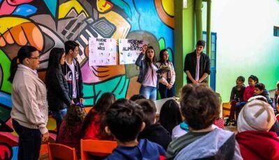 Projeto de Nutrição da UNIGRAN conscientiza crianças sobre alimentação saudável