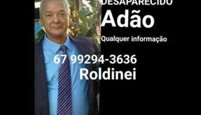Família procura idoso desaparecido em Campo Grande