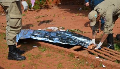 IVINHEMA: Homem é encontrado morto possivelmente vitima de esfaqueamento