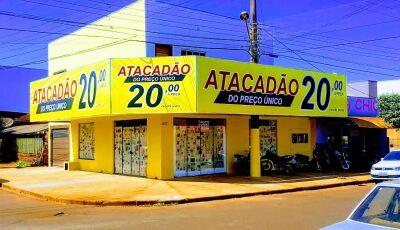 Atacadão do Preço Único será inaugurado neste sábado no Centro Educacional em Fátima do Sul