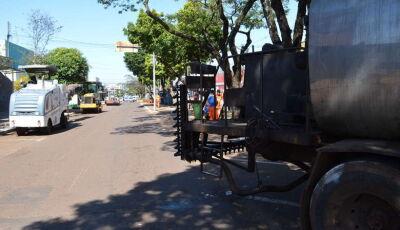 Obra de R$ 10 milhões, revitalização da parte sul da Hayel Bon Faker tem início em Dourados