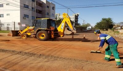 Dourados recebe pacote de obras de R$ 28,8 milhões na área de saneamento