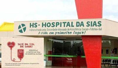 Parceria entre Bombeiros e SIAS trará Hemocentro Regional 24 de Agosto para Fátima do Sul