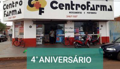 Até dia 28, Compre na CentroFarma e concorra a dois prêmios de R$ 1 mil reais cada em Fátima do Sul