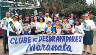 Clube de Desbravadores Maranata realizará cerimonia especial na IASD de Fátima do Sul
