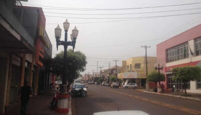 Onda de calor pode trazer chuva para Fátima do Sul