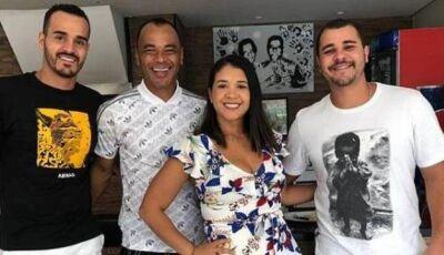 Filho de Cafu morre após sofrer infarto em futebol com amigos