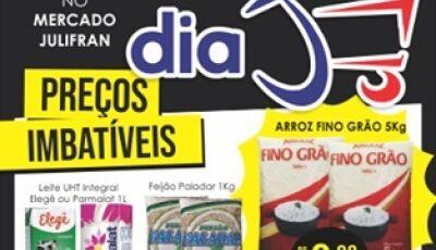 Confira alguam ofertas do DIA 'J' deste sábado do Mercado Julifran em Fátima do Sul
