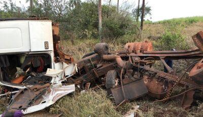 IVINHEMA: Ex-prefeito sofre grave acidente na MS-145
