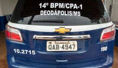 Homem tem camionete F-4000 roubada e câmeras de segurança pode ter flagrado em Deodápolis