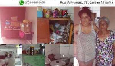 VÍDEO: sem água e luz, diarista faz apelo emocionante por ajuda em Campo Grande