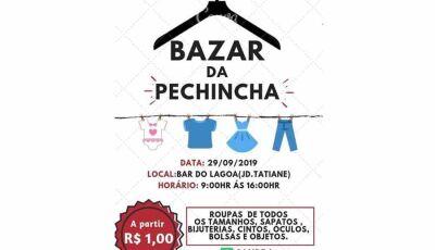 Neste domingo tem Bazar da Pechincha no Jd. Tatiane em Fátima do Sul