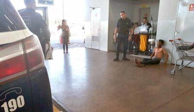 Ladrão é agredido a pedrada tentando furtar bicicleta em Campo Grande