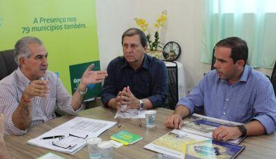 Governo Presente: Figueirão pede equipamentos e destaca municipalismo do governador Reinaldo Azambuj