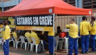 Funcionários dos Correios iniciam greve