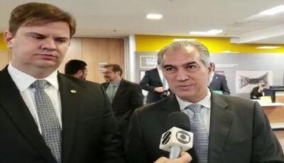 Governo Federal garante a Reinaldo Azambuja aeronaves e recursos para combater queimadas