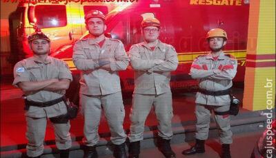 Homem é salvo por bombeiros quando estava cometendo suicídio em Maracaju