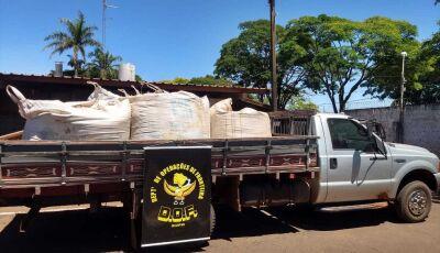 DOF prende três homens por furto de ração animal na região de Vicentina