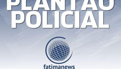 Motocicleta é roubada em frente de Farmácia, câmeras de segurança flagraram autor em Fátima do Sul