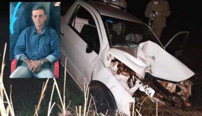 Violento acidente tira a vida do pedreiro Elias Soares, morador de Vicentina