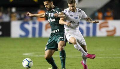 Santos toma 2º lugar do Palmeiras, e Fla pode abrir oito pontos