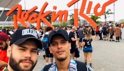 Jovem Nova Andradinense faz pedido de casamento durante o Rock In Rio (VÍDEO)