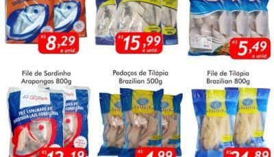 SEXTA DO PEIXE é no Mercado Julifran, confira as ofertas em Fátima do Sul