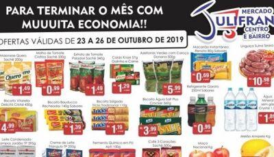 Confira as OFERTAS da semana que vão até neste sábado, e hoje tem QUARTA VERDE no Mercado Julifran