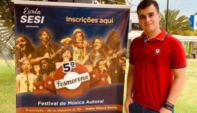 Gloriadouradense aposta no romantismo para surpreender no 5º Fesmorena em Campo Grande