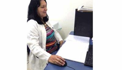 Secretária de Saúde de Fátima do Sul presta homenagem a saudosa Lídia de Culturama