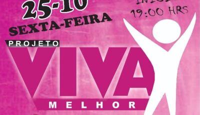 Hoje tem Aulão de Zumba e música Ao Vivo na praça do Projeto Viva Melhor em Vicentina