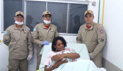 IVINHEMA: Corpo de Bombeiros realiza parto em viatura