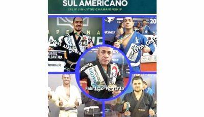 """5 Atletas de Fátima do Sul e Vicentina, buscam patrocinio para o """"Sul Americano de Jiu Jitsu""""."""