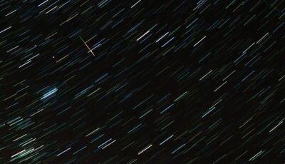 Chuva de meteoros cruza o céu na madrugada desta terça-feira (22)