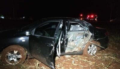 Jovem de 22 anos é identificado em acidente fatal entre Indápolis e Deodápolis