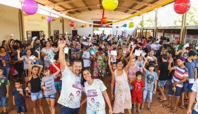 Ronaldo do Lanche realiza 9ª Festa em comemoração ao Dia das Crianças em Fátima do Sul