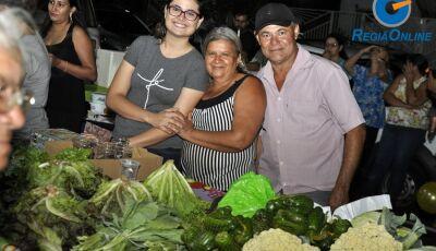 Confira as FOTOS de mais uma etapa da Feira Livre em Vicentina