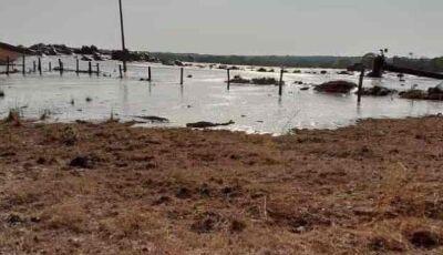 Rompimento de barragem em Mato Grosso deixa dois feridos