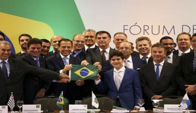 Em Brasília, Reinaldo Azambuja participa do VII Fórum de Governadores