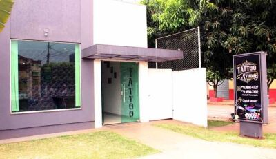 Estudio Chakall Tattoo em novas e modernas instalações reinaugura no dia 11 em Fátima do Sul