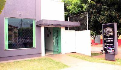 Estudio Chakall Tattoo em novas e modernas instalações reinaugura nessa sexta, 11 em Fátima do Sul