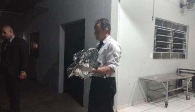 Pai de criança morta após parto escondido, queria abortar bebê, em Dourados