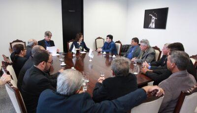 Prefeito e vereadores vão a Brasília em busca de recursos para Vicentina