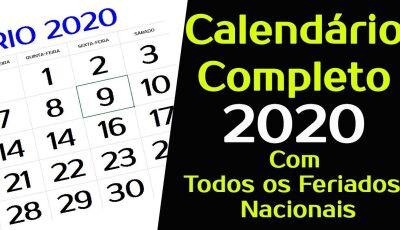 Em 2020, seis feriados nacionais cairão numa sexta ou numa segunda-feira