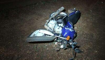 Gestante que acompanhava motociclista envolvido em acidente morre no HV em Dourados