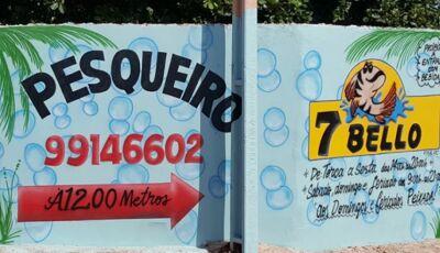 VICENTINA: Domingo é dia de almoçar no Pesqueiro 7 Bello, CONFIRA O CARDÁPIO