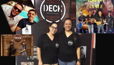 Deck Beer & Petiscaria tem uma extensa programação para o feriadão em Fátima do Sul
