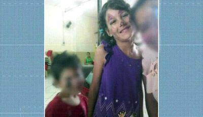 Adolescente disse que usou galho de árvore para matar menina de 9 anos