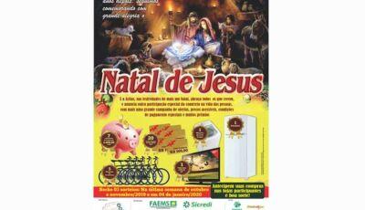 Acifas está lançando nesta 2ª Feira o NATAL DE JESUS
