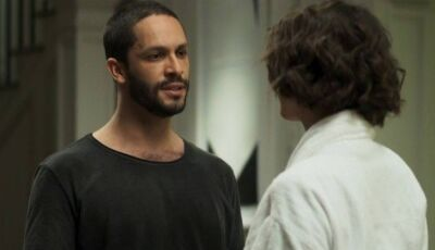 Em 'A dona do pedaço', Téo tem fígado dilacerado por Josiane, que tenta matá-lo duas vezes